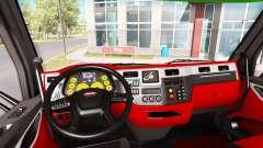 Color de Peterbilt 579 interior en el estilo de Ferrari para American Truck Simulator