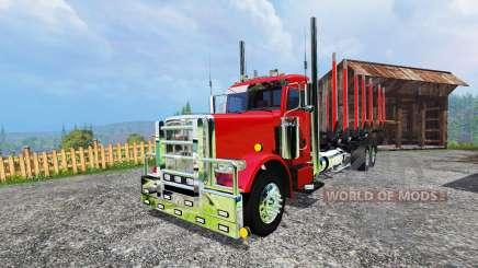 Peterbilt 388 [log truck] para Farming Simulator 2015
