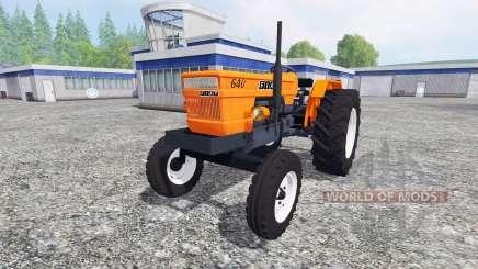 Fiat 640 v2.0 para Farming Simulator 2015