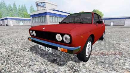 Fiat 128 3P Berlinetta 1978 para Farming Simulator 2015