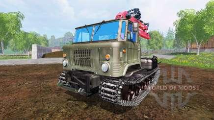 GAZ-66 [skid] para Farming Simulator 2015