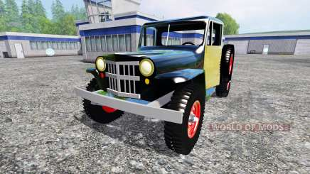 Jeep Pickup 1956 para Farming Simulator 2015