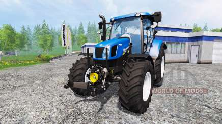 New Holland T6.160 v1.0.0 para Farming Simulator 2015