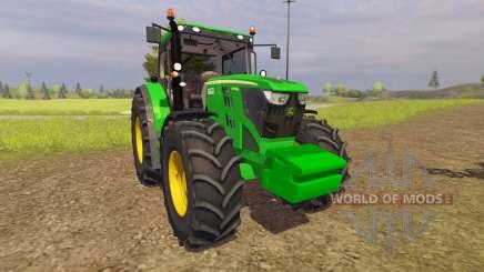 John Deere 6210R v2.0 para Farming Simulator 2013