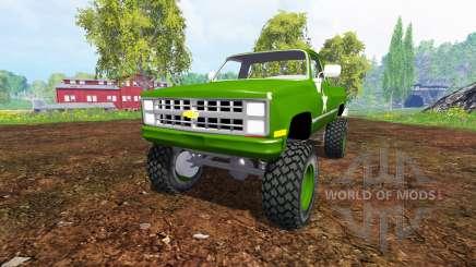 Chevrolet K5 Blazer M1008 para Farming Simulator 2015