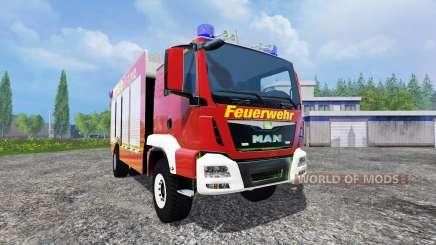 MAN TGM 14.250 Firetruck para Farming Simulator 2015