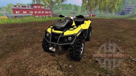Can-Am Outlander 1000 XT v1.0 para Farming Simulator 2015
