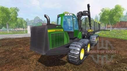 John Deere 1510E v2.0 para Farming Simulator 2015