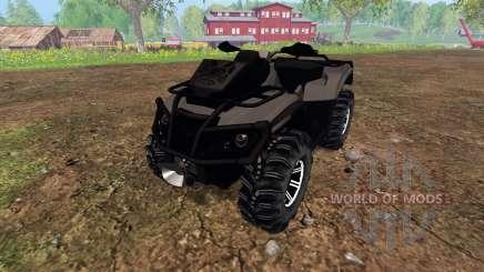 Can-Am Outlander 1000 XT [black] para Farming Simulator 2015