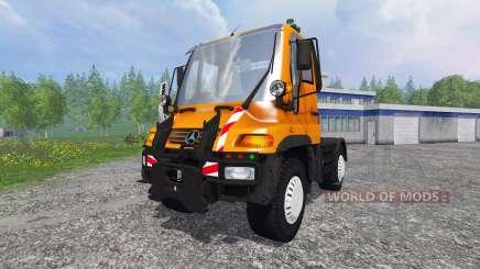 Mercedes-Benz Unimog U400 v1.1 para Farming Simulator 2015