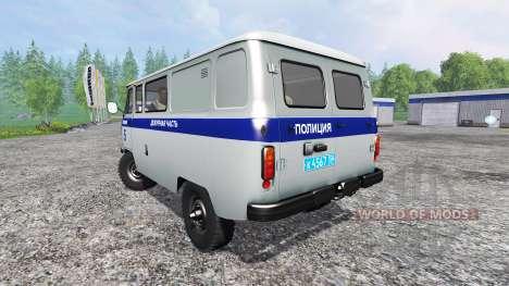 UAZ-3909 Policía para Farming Simulator 2015