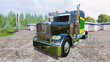 Peterbilt 388 [pack] v2.0 para Farming Simulator 2015