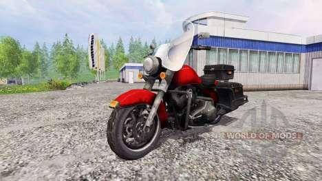Harley-Davidson para Farming Simulator 2015