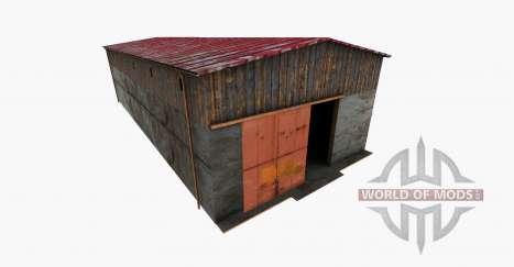 Machine Hall para Farming Simulator 2015