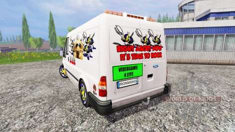 Ford Transit [party van] v2.0 para Farming Simulator 2015