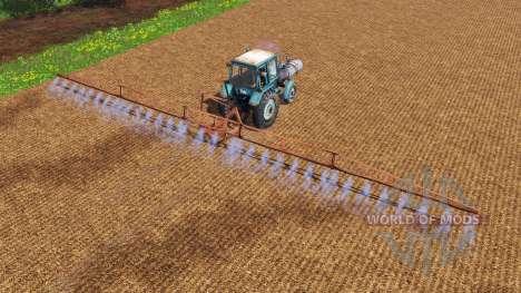 MTZ-80 Pulverizador para Farming Simulator 2015