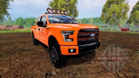 Ford F-150 2015 para Farming Simulator 2015