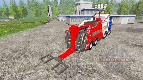 Mercedes-Benz Axor Depan 2000 para Farming Simulator 2015