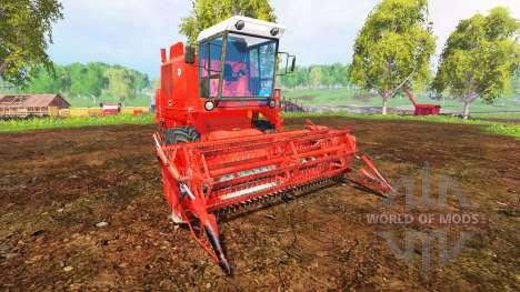 Bizon Z056 para Farming Simulator 2015