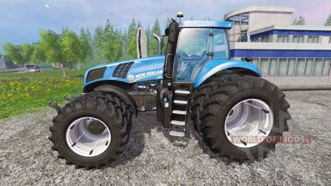 New Holland T8.435 v4.0.3 para Farming Simulator 2015