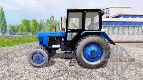 MTZ-80 Bielorruso v2.0 para Farming Simulator 2015