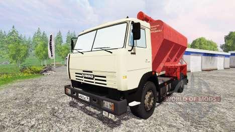 KamAZ-43253 para Farming Simulator 2015
