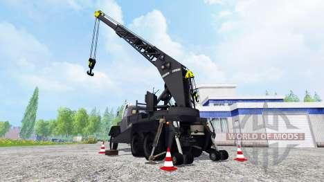 Magirus-Deutz 200D26A 6x6 [autocrane] para Farming Simulator 2015