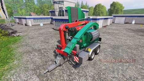 Jenz HEM 583 Z para Farming Simulator 2015