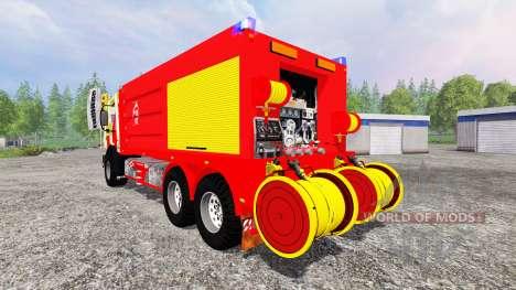 Mercedes-Benz Unimog CCFS para Farming Simulator 2015