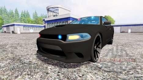 Dodge Carger Hellcat 2015 Undercover para Farming Simulator 2015