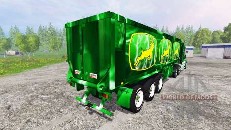 Kenworth T908 [John Deere Service] para Farming Simulator 2015