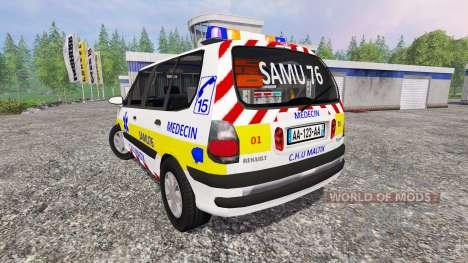 Renault Espace SAMU para Farming Simulator 2015