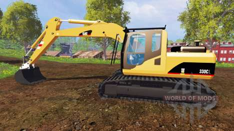 Caterpillar 330CL para Farming Simulator 2015