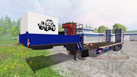 La red de arrastre para Farming Simulator 2015