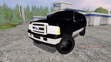 Ford Excursion para Farming Simulator 2015