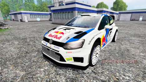 Volkswagen Polo WRC Red Bull para Farming Simulator 2015