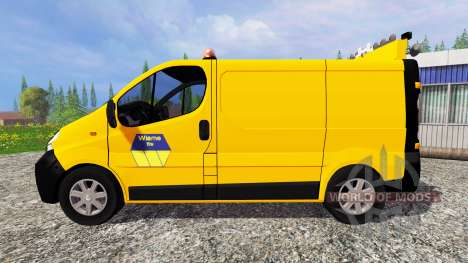 Renault Trafic Convoi Exceptionel para Farming Simulator 2015