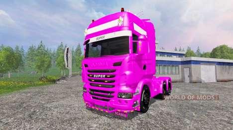 Scania R730 Topline v2.0 para Farming Simulator 2015