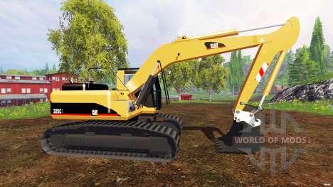 Caterpillar 325C para Farming Simulator 2015
