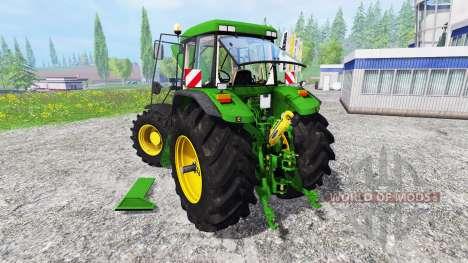 John Deere 7810 [weight] para Farming Simulator 2015