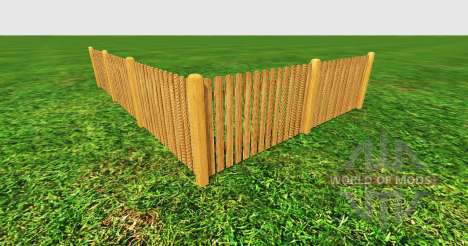 Wooden fence para Farming Simulator 2015