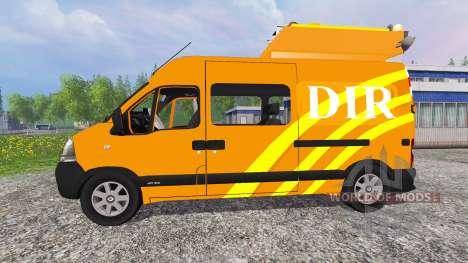 Renault Master DIR v2.1 para Farming Simulator 2015