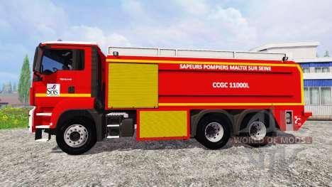 MAN TGS CCGC para Farming Simulator 2015