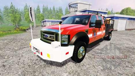 Ford F-450 [feuerwehr] para Farming Simulator 2015