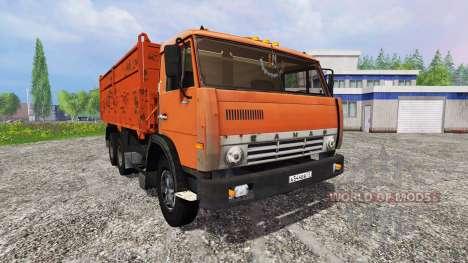 KamAZ-55102 [construir] para Farming Simulator 2015