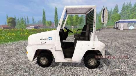 Aeródromo de equipaje tractor para Farming Simulator 2015