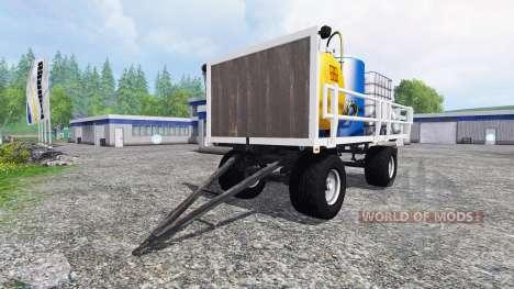 Gruber HW 80 [service] v3.0 para Farming Simulator 2015