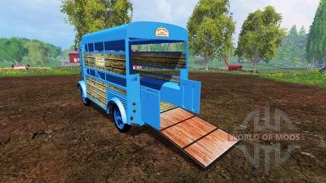 Citroen Type H v2.6 para Farming Simulator 2015