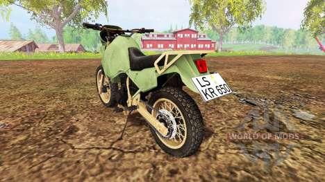 Kawasaki KR650 para Farming Simulator 2015