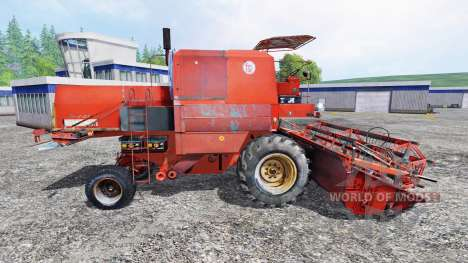 Bizon Z056 [red roof] para Farming Simulator 2015